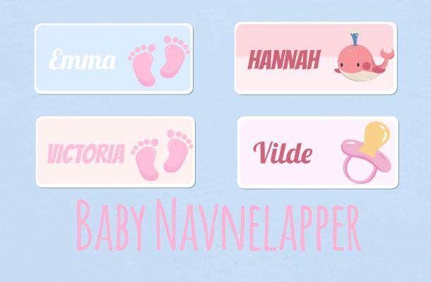 Baby navnelapper